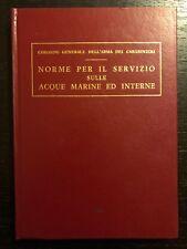 [Militaria] Norme per il servizio sulle acque marine ed interne