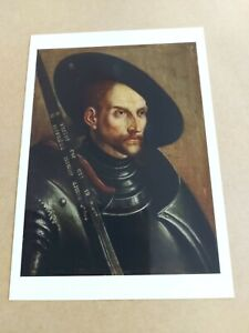 Postcard - Edzard The Great, Count of East Friesland - The National Gallery