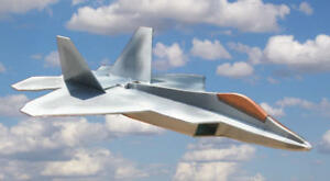 F22  Raptor Fun- Parkflyer Depron Jet Serie