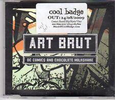 (EK876) Art Brut, DC Comics And Chocolate Milkshake - 2009 DJ CD
