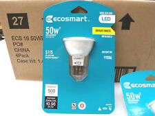 Ecosmart 50W Equivalent Bright White (3000K) MR16 LED Flood DIMMABLE 500 Lumens