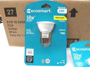 Ecosmart 50W Equivalent Bright White (3000K) MR16 LED Flood DIMMABLE 500 Lumens