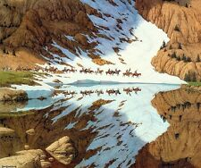 Bev Doolittle Season of The Eagle Signed, Numbered, Limited Edition Litho Print