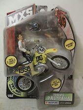 NEW 2008 JAKKS MXS TRAVIS PASTRANA #199 CERNICS DC THOR SUZUKI RM250 RM-250