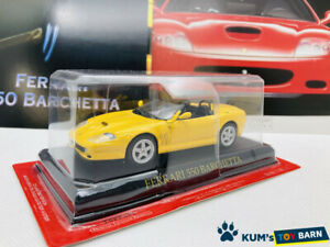 1:43 Ferrari Collection Hachette FERRARI 550 BARCHETTA Yellow Rare