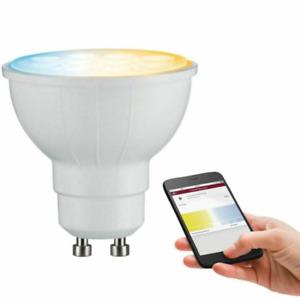 Paulmann 500.62 Smarthome Zigbee LED Reflektor 4,8W GU10 Lichtfarbe Abstimmbar