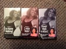 In Home Walking By Leslie Sansone VHS Set Of 3