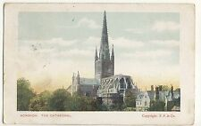 Vintage Postcard (1905) - Norwich, The Cathedral - Posted 2210