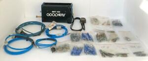 GOODWAY AWT-100 COMPACT AIR POWERED TUBE CLEANER WITH ACCESSORIES