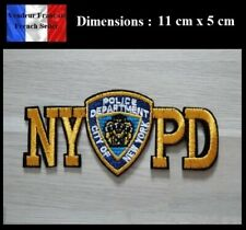 Écusson Brodé Thermocollant NEUF ( Patch Embroidered ) - NYPD Police New York