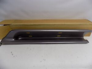 New OEM 95-97 Ford Mercury Rocker Panel Moulding Molding Rear Left Graphite LH
