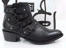 Women's Shoes DV by Dolce Vita Vista Ankle Boots Booties Leather Black Size 9.5