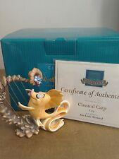 WDCC Classical Carp :Carp With Harp, Little Mermaid 1998 Gold Circle Sculpture