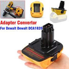 20V MAX to 18V Li-Ion Battery Adapter Convert USB Port for Dewalt Dewalt DCA1820