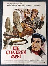 Die cleveren Zwei - Giannini & Constantin - A1 Filmposter Plakat (Y-9503+