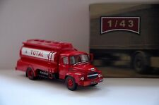 TRUCK VINTAGE No.84 Unic MZ-36 Saverne TANK TOTAL 1965 1/43 # NEW IXO