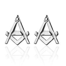 Freemasonry Masonic Square & Compass Freemasons Cufflinks