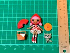 Lalaloopsy Mini Red Riding Hood Scarlet Complete Set L411