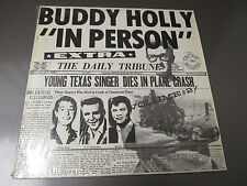 Buddy Holly – In Person: Volume #2 LP Cricket Records C002000 EX/EX Shrink
