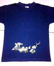 Hummelsheim-Shirt Gr. 116-128 blau m. Applikation - toll und TOP!