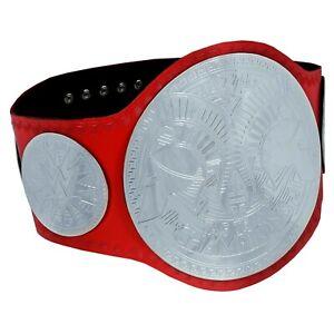 SH World Wrestling Entertainment Champion Belt Tag Team Replica Leather 2mm