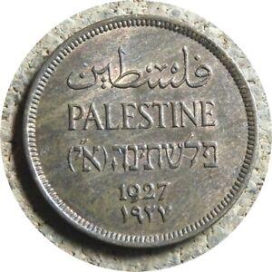 elf Palestine British 1 Mil 1927