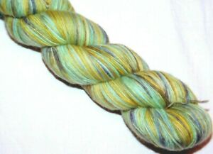 Gorgeous! Greens MARIPOSA Skein 470yd Malabrigo LACE Pure BABY Merino Wool YARN