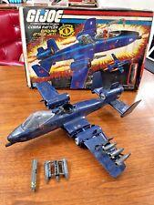 Vintage GI Joe Cobra Rattler Ground Attack Jet in Original Box
