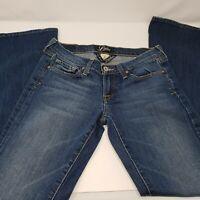 Lucky Brand Women's Blue Jeans Size 4/27 Zoe Flare 7W10751
