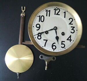 Uhr , Wanduhr Regulator - Ersatzteil , Werk Junghans - Uhrwerk mit Pendel