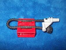 Lego Duplo ritterburg bomberos 4777 + 4785 soporte manguera contra incendios rojo
