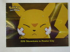 Showdown in Pewter City Foil/Holo 2000 Topps Pokemon Series 2 Episode Card EP5