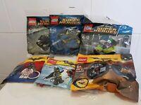LEGO BATMAN POLYBAG BUNDLE 5004928, 30300, 30301, 30303, 30522, 5004929 NEW