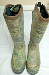 LaCrosse Womens 9 Alpha 800 Gram Camouflage Scent Free Thinsulate Hunting Boots