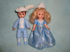 Mcdonald's Madame Alexander 2010 doll Cinderella & Prince Charming Lot 2 pcs