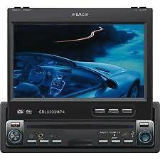 "Sevic 7"" Motorised DVD AM/FM Radio & TV Tuner SD/USB"