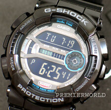 CASIO G-SHOCK LARGE LCD SUPER ILLUMINATOR 200M WATCH GD-110-1 GD-110-1DR