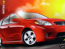 2008 Toyota Matrix crossover new vehicle brochure