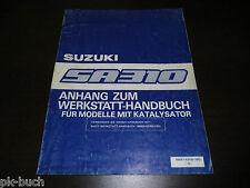 Werkstatthandbuch Nachtrag Suzuki Swift SA 310 Stand 11/1985