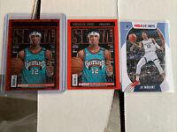 🔥🔥2020-21 NBA HOOPS JA MORANT SLAM HOLO PURPLE EXPLOSION CARD #18 GRIZZLIES🔥