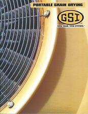Farm Equipment Brochure - Gsi - Portable Grain Dryer Drying - 2011 (F4677)