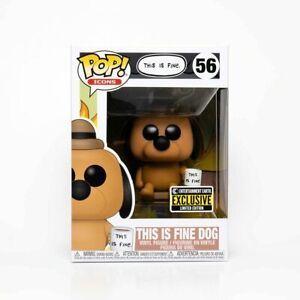THIS IS FINE DOG 56 POP FUNKO EEE LIMITED ED