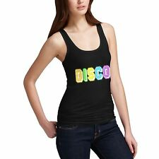 Twisted Envy Women's Rainbow Disco Lights Tank Top