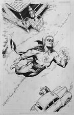 Gary Frank Green Lantern Original Comic Art Alan Scott p8