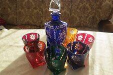 Römergläser WHISKYSET  - Set 6 Gläser + Karaffe WHISKEY,Cognac!!!