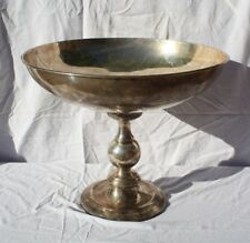 Silver Champagne Martini Alcohol Glass Footed Pedestal Buffet Big Large Display