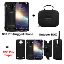 Doogee s90 pro android 9.0 octa core 6gb+128gb 4g dual sim face id 6.18 inches