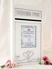 Personalised Royal Mail Wedding Card Post Box - Lockable / LargeLocking Postbox