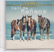 Scooter-Call Me Manana cd single