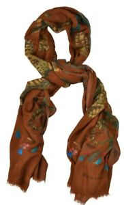 NEW Stile Latino (Attolini) viscose wool blend scarf scarves 200x140cm